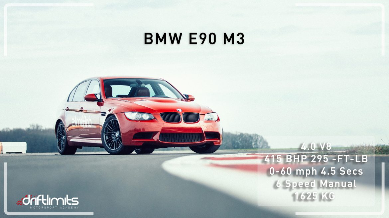 BMW E90 M3 V8