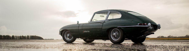 Jaguar e type experience