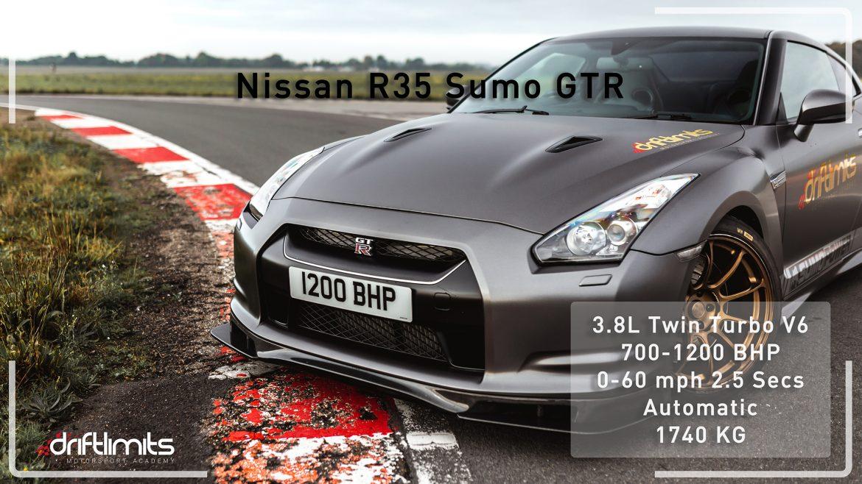 Nissan GTR Sumo 1200BHP